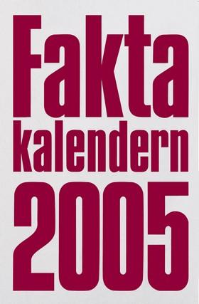 Faktakalendern 2005