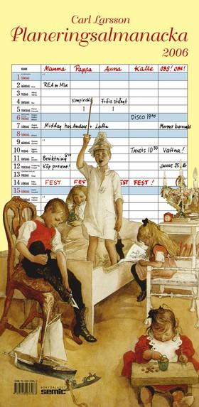 Carl Larsson planeringsalmanacka 2006
