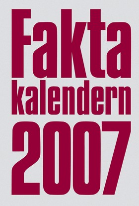 Faktakalendern 2007