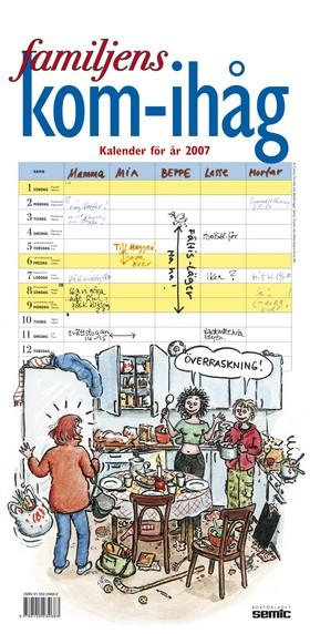 Familjens kom-ihåg kalender 2007