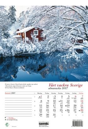 Vårt vackra Sverige almanacka 2007