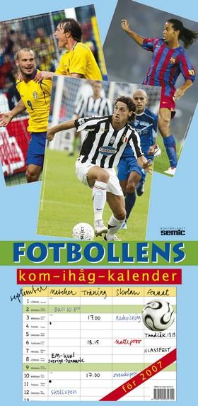 Fotbollens kom-ihåg-kalender 2007