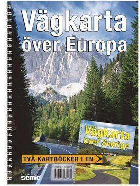 Vägkarta över Europa och Sverige