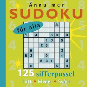 Ännu mer Sudoku för alla