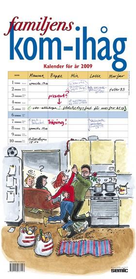 Familjens kom-ihåg kalender 2009