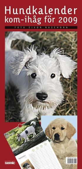 Hundkalender - kom-ihåg för 2009