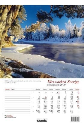 Vårt vackra Sverige almanacka 2009