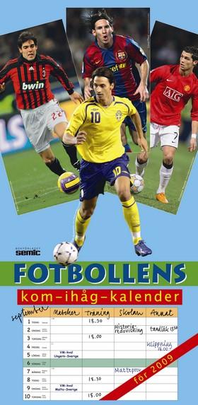 Fotbollens kom-ihåg-kalender 2009