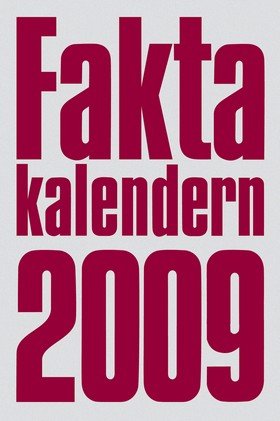 Faktakalendern 2009 (med EAN-kod)