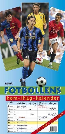 Fotbollens kom-ihåg-kalender 2010