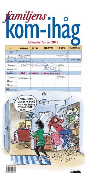 Familjens kom-ihåg kalender 2010
