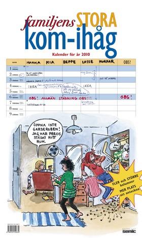 Familjens stora kom-ihåg-kalender 2010