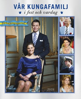 Vår kungafamilj i fest och vardag 2009