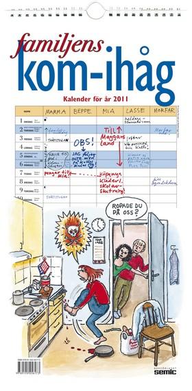 Familjens kom-ihåg kalender 2011