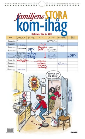 Familjens stora kom-ihåg kalender 2011