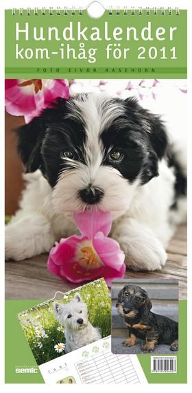Hundkalender - kom-ihåg för 2011