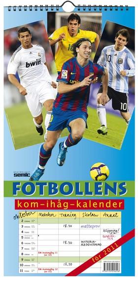 Fotbollens kom-ihåg-kalender 2011