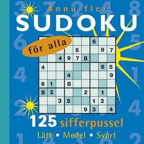 Ännu fler sudoku för alla