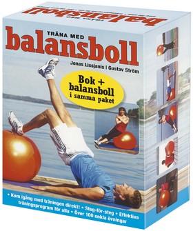 Träna med balansboll (bok+kartong)