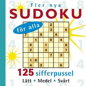 Fler nya sudoku för alla
