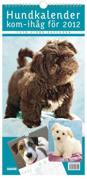 Hundkalender - kom-ihåg för 2012