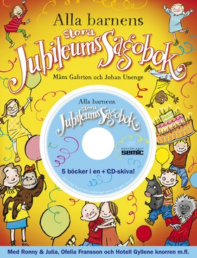 Alla barnens stora jubileumssagobok + CD