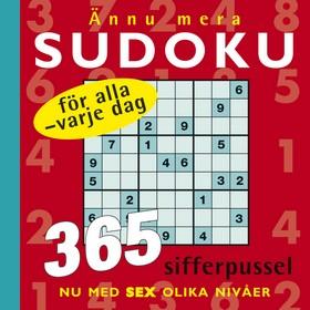 Ännu mera sudoku för alla – varje dag