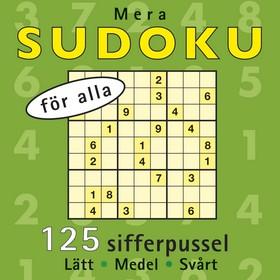 Mera sudoku för alla
