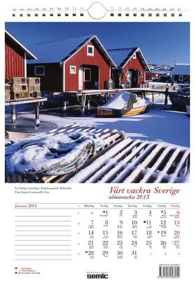 Vårt vackra Sverige almanacka 2013