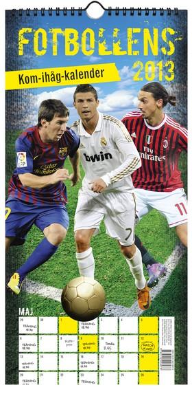 Fotbollens kom-ihåg-kalender 2013