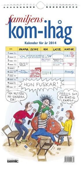 Familjens kom-ihåg – Kalender för år 2014