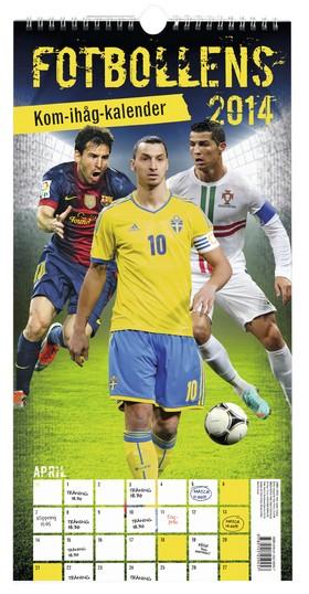 Fotbollens kom-ihåg-kalender 2014