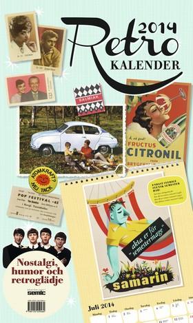 Retrokalender 2014 - nostalgi, humor och retroglädje