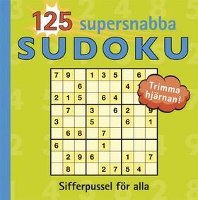 125 Supersnabba sudoku