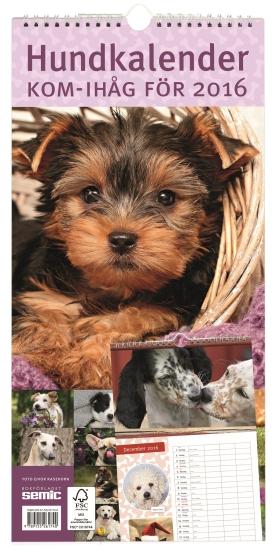 Hundkalender 2016