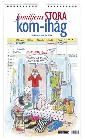 Familjens STORA kom-ihåg-kalender 2016