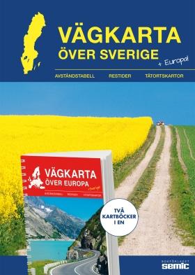 Vägkarta över Sverige/Europa