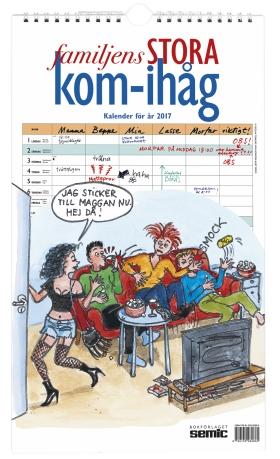 Familjens STORA kom-ihåg-kalender 2017