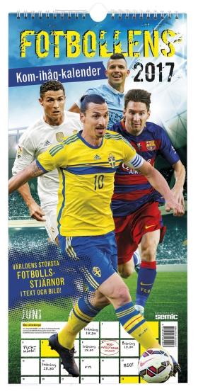 Fotbollens kom-ihåg-kalender 2017