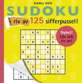 Ännu mer sudoku – riv av 125 sifferpussel!