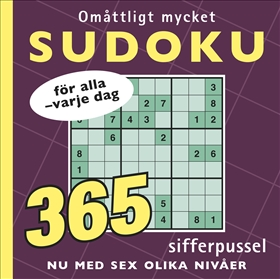 Omåttligt mycket sudoku