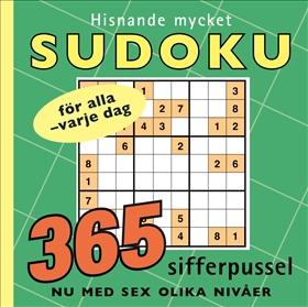 Hisnande mycket sudoku
