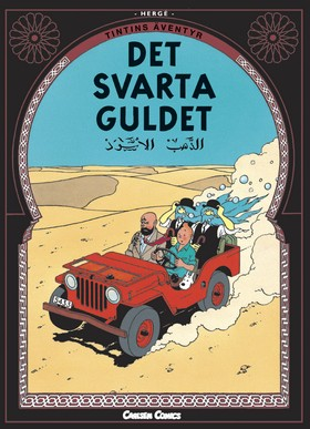 Tintin 15: Det svarta guldet