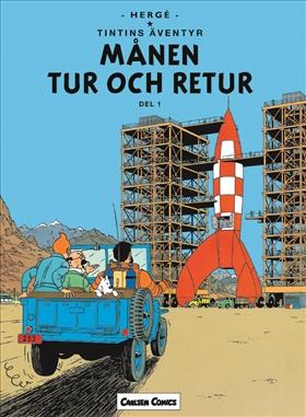 Tintin 16: Månen tur och retur, del 1