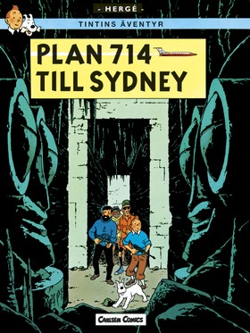 Tintin 22: Plan 714 till Sydney