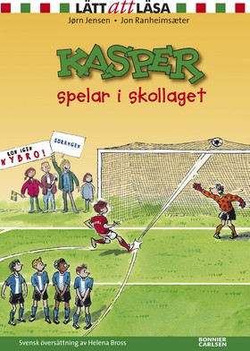 Kasper spelar i skollaget