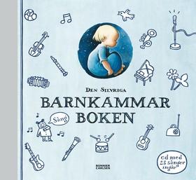 Den silvriga barnkammarboken inkl cd