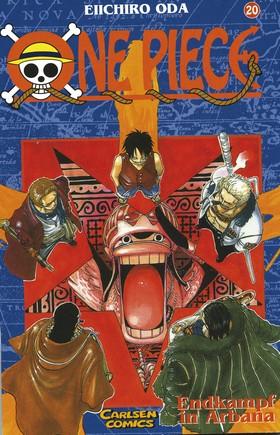 One Piece 20 Den avgörande striden