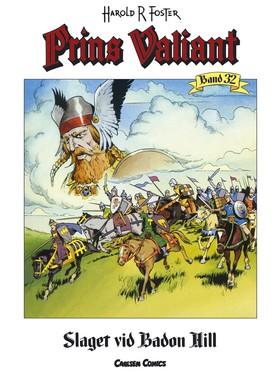 Prins Valiant 32: Slaget vid Badon Hill