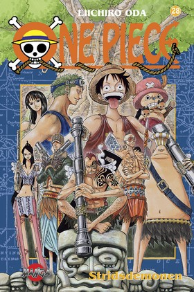 One piece 28 - Stridsdemonen